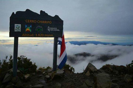 En la cima de Costa Rica: Cerro Chirripó.