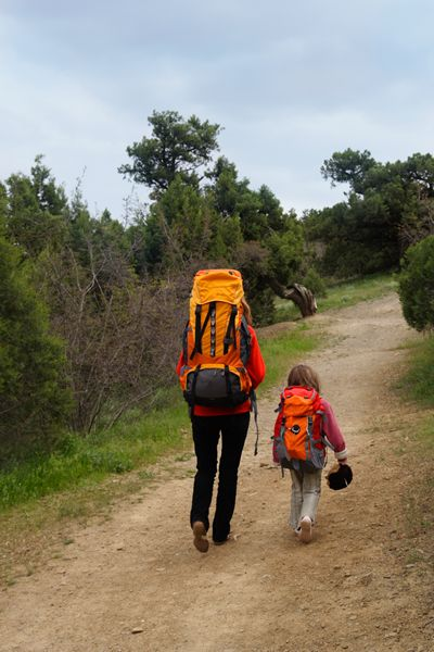 Backpacking with Children - with lots of planning printables!