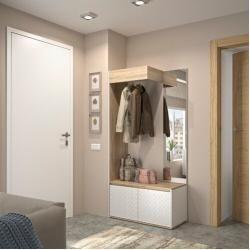 Garderoben Sets Kompaktgarderoben Wohnungsdeko Garderoben Set Flur Design