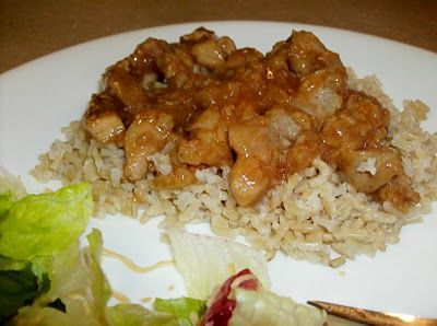 crock pot cashew chicken. Great blog with tons of great recipes.