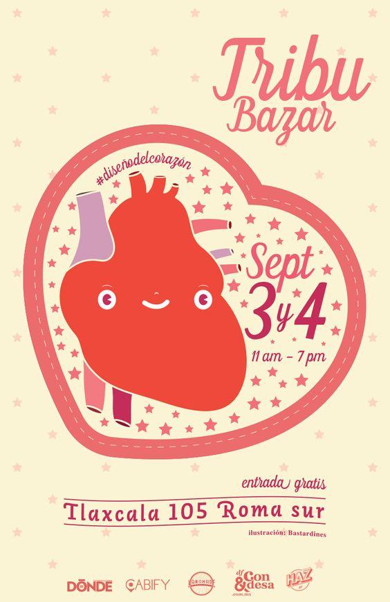 México ocupa hoy un  gran lugar en cuanto el diseño y Tribu bazar lo festeja este 3 y 4 de Septiembre!. Arte. Bastardín