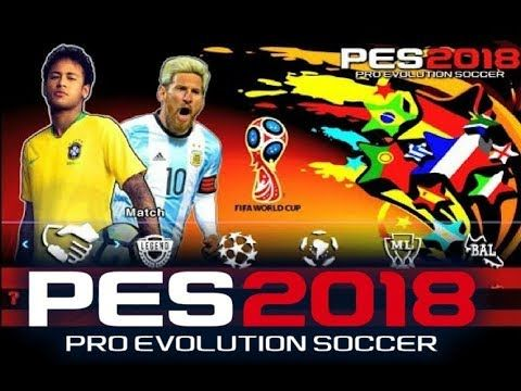 Pes 2018 Mod World Cup Russia For Android And Iphone Download Android Mobile Games Pro Evolution Soccer Evolution Soccer