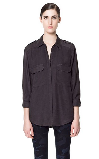 SHIRT WITH PATCH POCKET