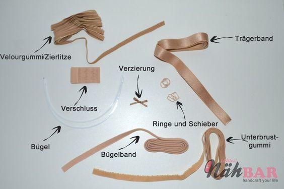 Materialkunde und Kurzwaren für BH