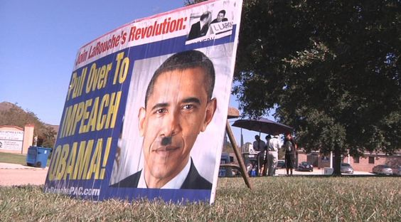 """Protesters Think Obama Is Hitler: """"Of Course He Has Earned His Mustache"""" - http://www.yoodot.com/12413/protesters-think-obama-is-hitler-of-course-he-has-earned-his-mustache/"""