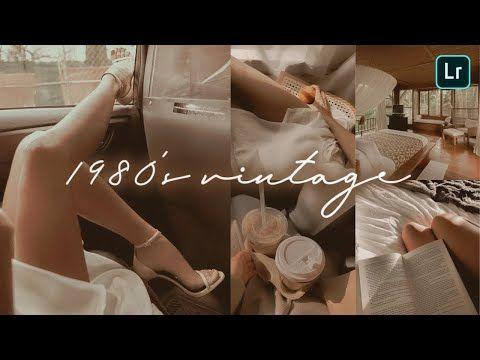1980 S Vintage Preset Lightroom Mobile Free Dng Lightroom Presets Tutorial Mobile Yo In 2020 Lightroom Presets Tutorial Vintage Lightroom Presets Lightroom Presets