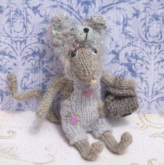 Knitting Pattern Mouse : Pinterest   The world s catalog of ideas