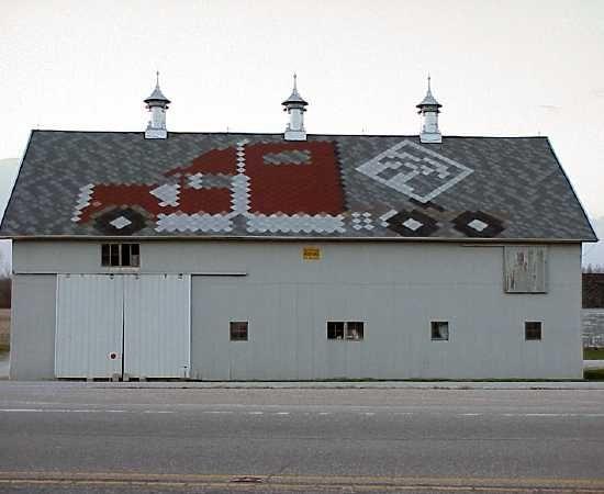 Semi Truck Barn