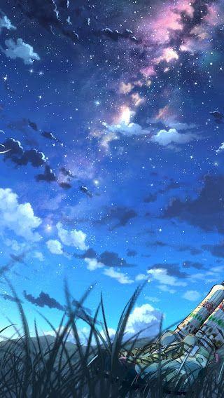 Aesthetic Anime Background Night}