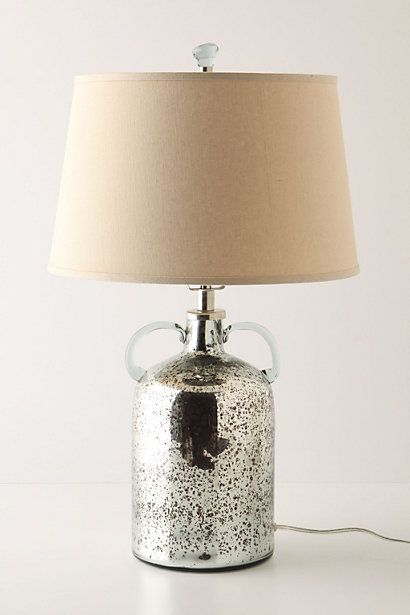 mercury glass lamp glass lamps glass jug bedroom lamps bedroom ideas. Black Bedroom Furniture Sets. Home Design Ideas