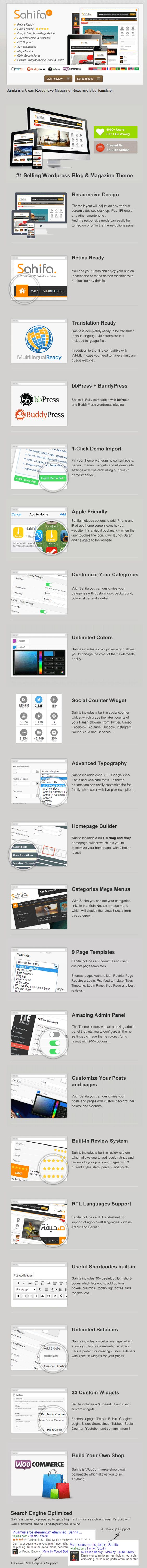 sahifa responsive wordpress news magazine blog theme sahifa