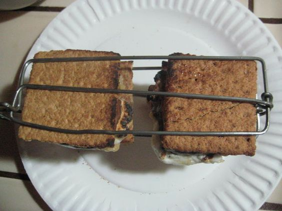 How to make shmore holders! http://www.instructables.com/id/Smores-Grilling-Tongs-from-Wire-Clothes-Hangers/