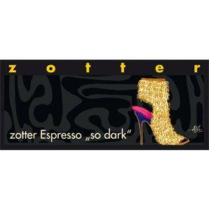 """zotter Espresso """"so dark"""""""