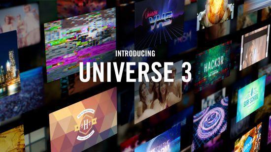 تحميل فلاتر وانتقالات Red Giant Universe 3 0 2 لجميع البرامج للماك والويندوز Red Giant Universe After Effects Intro Templates