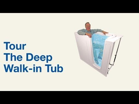 Deep Walk In Tub Model B305546 Bliss Tubs With Images Walk