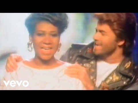 George Michael Aretha Franklin I Knew You Were Waiting For Me