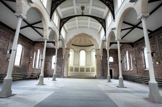 St Peters Church in ancoats, which the Halle Orchestra plans to make its home