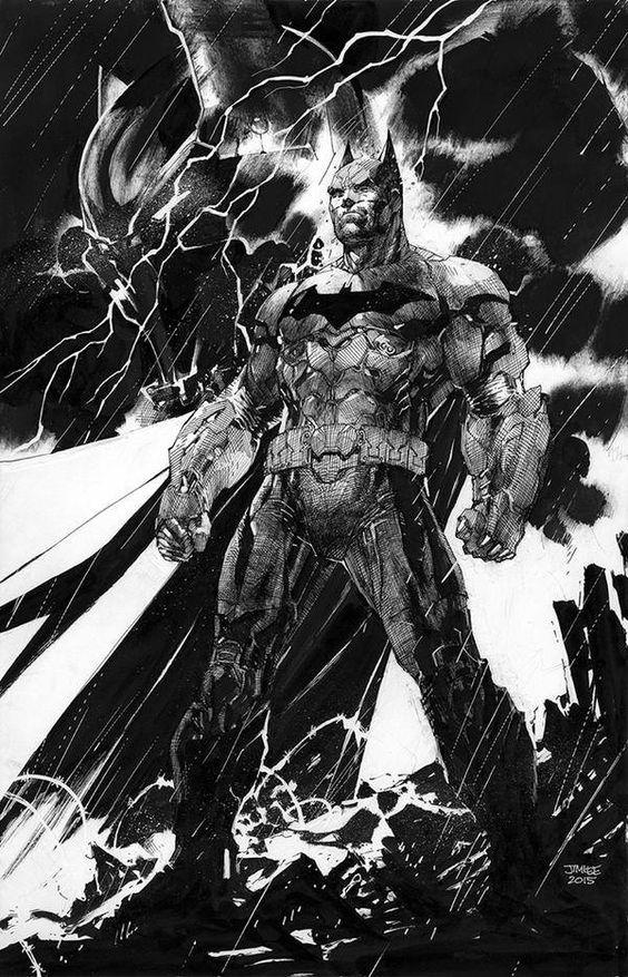 Batman - Jim Lee artwork