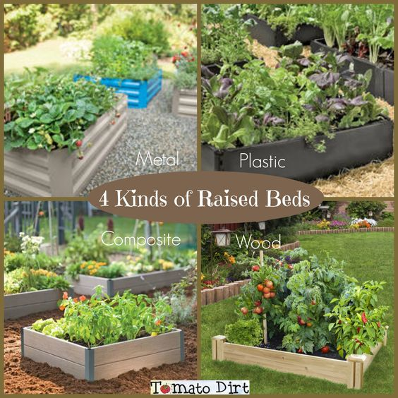 4 kinds of materials for raised beds for tomatoes get all the details for Best material for raised garden beds
