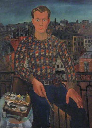 Christopher Wood (Angleterre, 1901–1930) – Self Portrait (1927) Kettle's Yard, University of Cambridge, UK
