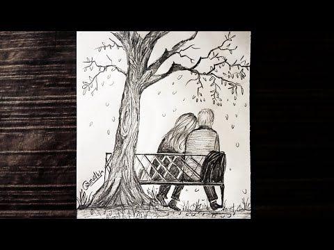 Pencil Drawing Sketch Of Special Love Pencil Shading Couple Sketch Youtube Couple Sketch Love Drawings Couple Landscape Pencil Drawings