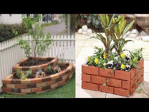Bordes De Jardin Con Ladrillos