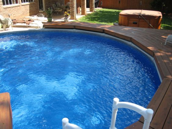 Installing Hot Tub In Backyard :  design spaces oasis tubs information about deck design hot tub patio