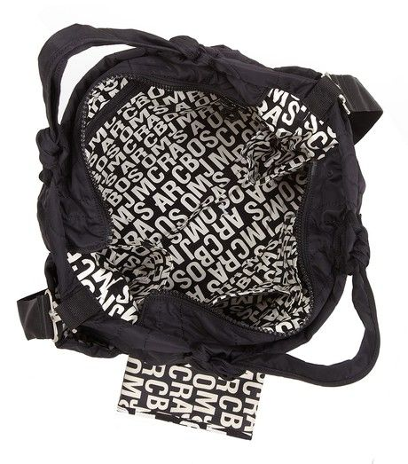 MARC by Marc Jacobs MbMJ Eliz-a-Baby Diaper Bag with Jumble Print lining