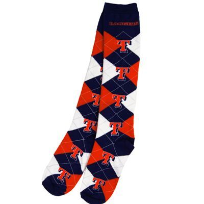 Texas Rangers Argyle Socks