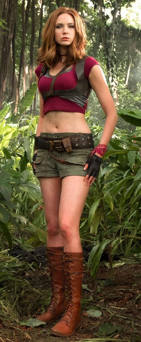 Karen Gillan Shines In Jumanji Welcome To The Jungle Find Out