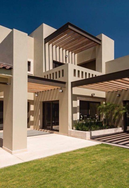 Ideas Para Pintar La Fachada Colores De Moda Casas Fachadas De Casas Modernas Fachada De Casa