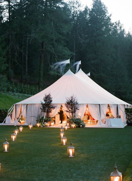32 Amazing Outdoor Wedding Tents Ideas to