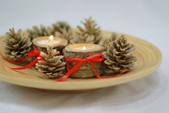 Check out this item in my Etsy shop https://www.etsy.com/listing/229152387/candle-holders-christmas-decor-unique