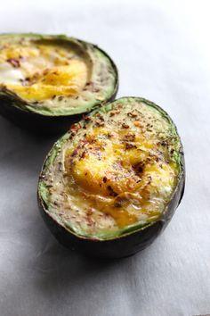 Easy Baked Avocado & Egg Recipe #justeatrealfood #paleohacks
