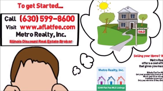 http://aflatfee.com - Illinois Flat Fee MLS is an excellent option for Illinois FSBO sellers who are looking to gain more exposure when selling their property. Metro Realty, Inc. -- Illinois Discount Broker - Questions: Call (630) 599-8600