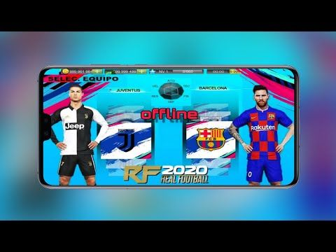 Real Football 2020 Latest Game Android Mod Offline 600mb Download Rf 2020 For Android Best Graphics Youtube Latest Games Android Games Best Graphics