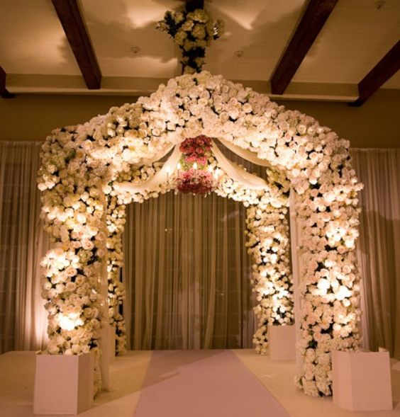 wedding ideas indoor boxes wedding ceremonies arches wedding arches