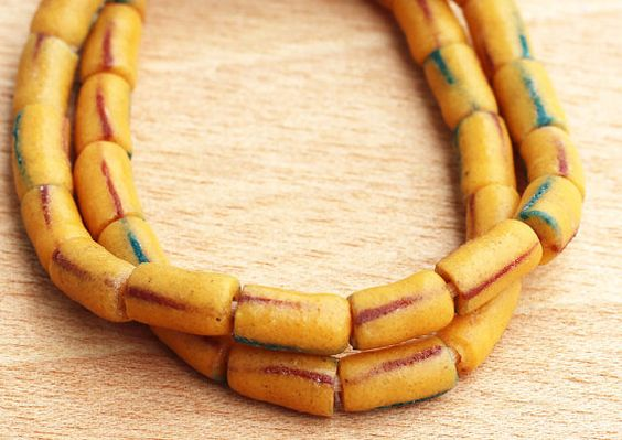 African Glass Beads Recycled Beads Krobo Beads Fair by Krobobeads