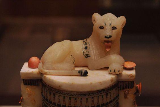 An Ancient Egyptian beauty box