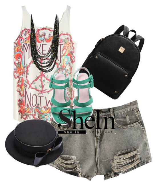 """sheinside"" by kim-coffey-harlow ❤ liked on Polyvore"