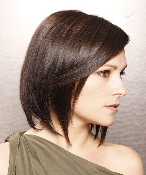 Fine Brunette Bob Brunettes And Razor Cuts On Pinterest Short Hairstyles Gunalazisus