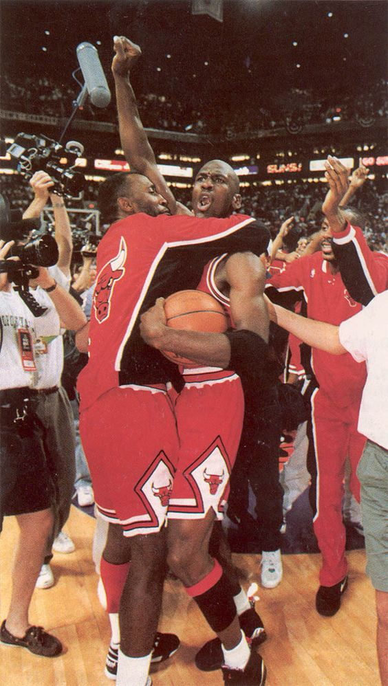 onlythebestnba:  1992-93 Finals Victory. The Beginning of the Bulls Legacy with Back to Back Championships.