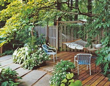 Privacy Solutions For Your Deck Trees And Shrubs