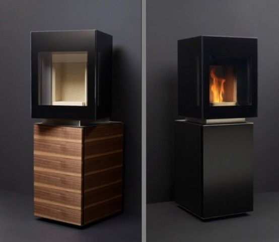 Minimalist Eco Friendly Pellet Stove By Gabbaan Digsdigs
