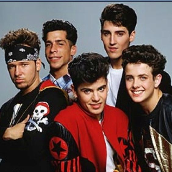 New kids on the block...I cried over these boys!!