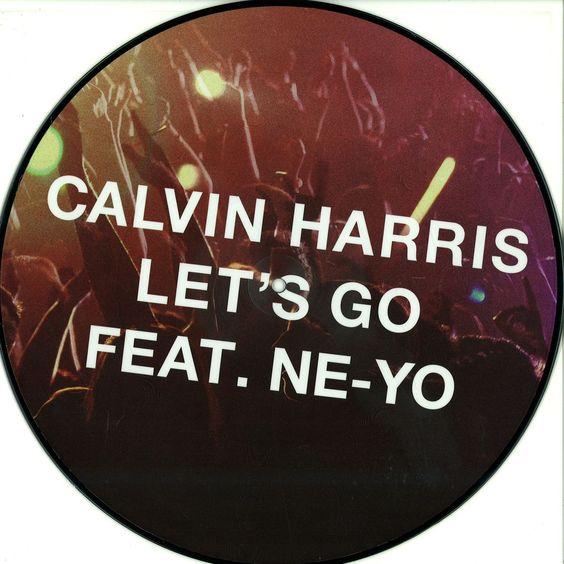 Calvin Harris, Ne-Yo – Let's Go (single cover art)