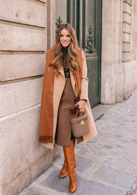 #streetstyle #бежевыйводежде #модныеидеи #зима2019