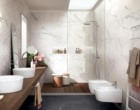 Arredo Bagno Ricerca Google Marmo Bianco Marmi Ceramica
