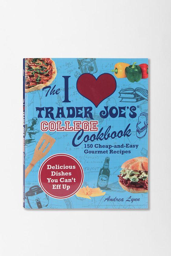 Trader Joe's college cookbook! Must have!