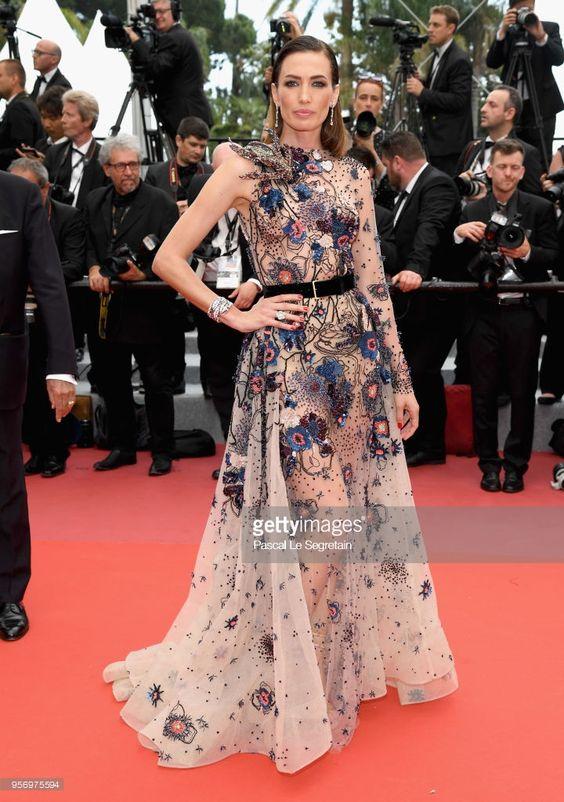 Nieves Alvarez & Elie Saab Couture